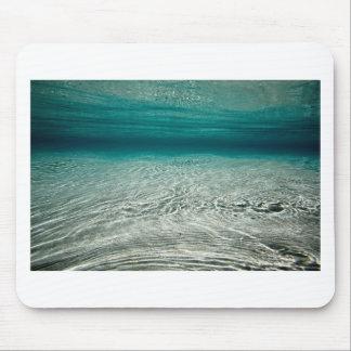 Tropischer Strand des Ruhe-Türkises Unterwasser Mauspad