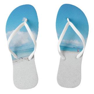 Tropischer Strand Flip Flops