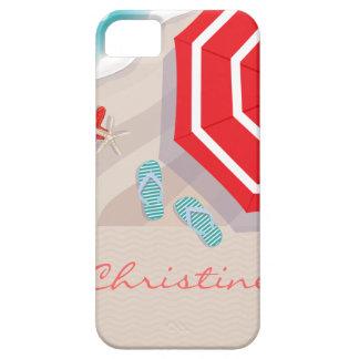 Tropischer Strand iPhone 5 Etui