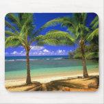 tropischer Strand Mousepads