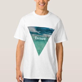 Tropischer Strand T-Shirt