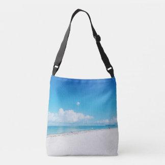 Tropischer Strand Tragetaschen Mit Langen Trägern