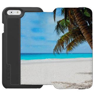 Tropischer Strand, Türkiswasser Incipio Watson™ iPhone 6 Geldbörsen Hülle