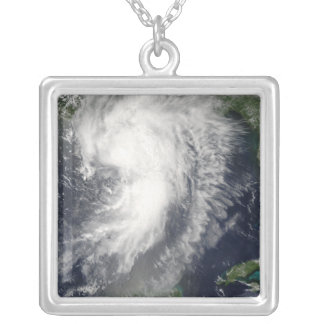 Tropischer Sturm Cindy Versilberte Kette