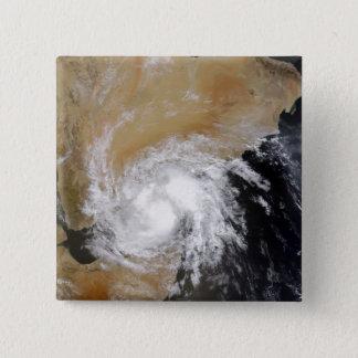 Tropischer Sturm drei auf den Nordinder Oce Quadratischer Button 5,1 Cm