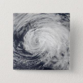 Tropischer Sturm Ele im zentralen Pazifik Quadratischer Button 5,1 Cm