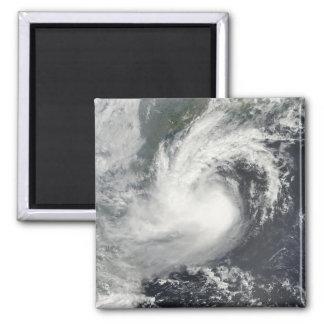Tropischer Sturm-Parma nähernde China und Viet Quadratischer Magnet