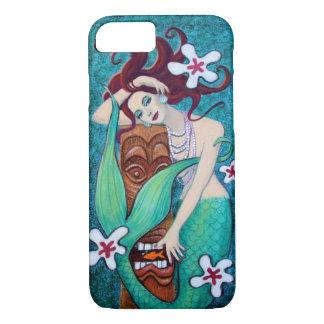 Tropischer Tiki Meerjungfrau iPhone 7 Fall iPhone 8/7 Hülle