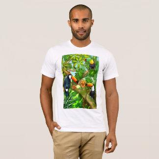 Tropischer Toco Toucan Vogel-T - Shirt