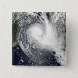 Tropischer Wirbelsturm Boloetse Quadratischer Button 5,1 Cm
