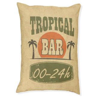 Tropisches Bar Haustierbett