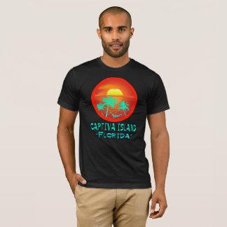 TROPISCHES BESTIMMUNGSORT-T-STÜCK CAPTIVA INSEL-, T-Shirt