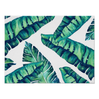 Tropisches bezauberndes Plakat 16x12