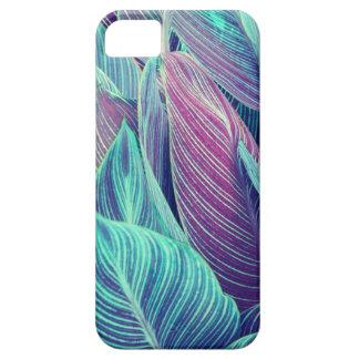 Tropisches Blätter iPhone 5 Case