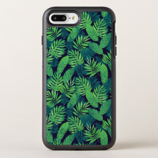 Tropisches Blätter-Muster OtterBox Symmetry iPhone 8 Plus/7 Plus Hülle