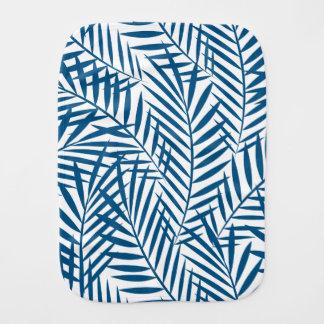 Tropisches blaues Palmblatt Spucktuch