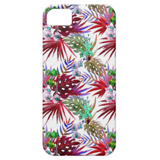 Tropisches Blumenmuster iPhone 5 Etui