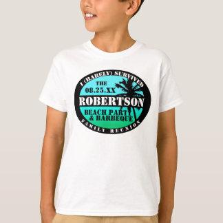 Tropisches Familien-Wiedersehen-Überlebend-Shirt T-Shirt