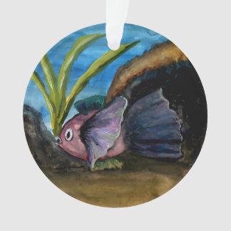 Tropisches Fisch-Aquarell-Florida-Weihnachten Ornament