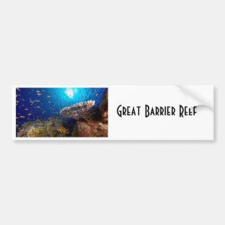 Tropisches Fisch-Great Barrier Reef Autoaufkleber