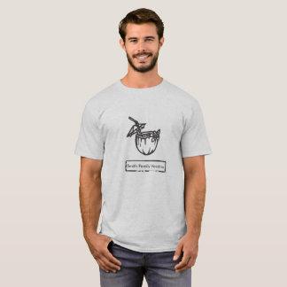 Tropisches Getränk-kundenspezifisches Text-T-Stück T-Shirt