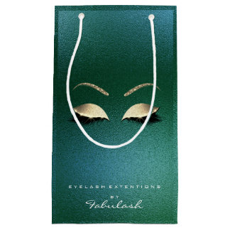 Tropisches GoldGlitzer-Make-up peitscht Schönheit Kleine Geschenktüte