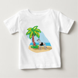 tropisches great dane baby t-shirt