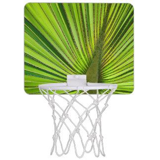 Tropisches Grün Mini Basketball Netz