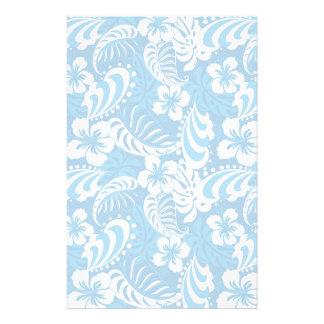 Tropisches Hibiskus-Muster Bedrucktes Papier