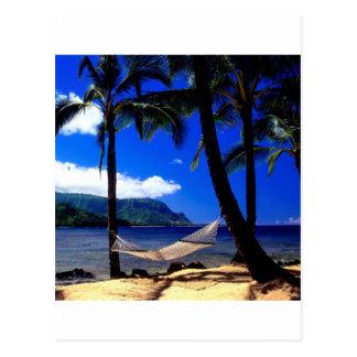 Tropisches Insel-Nachmittags-Nickerchen Kauai Postkarte