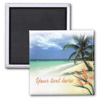 Tropisches jamaikanisches hawaiisches Gastgeschenk Magnete