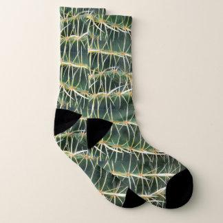 Tropisches Kaktus-Foto Socken