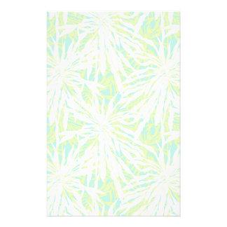 Tropisches Palmblatt-Muster Personalisierte Druckpapiere