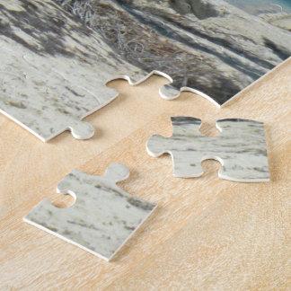 Tropisches Palme-Strand-Puzzlespiel Puzzle