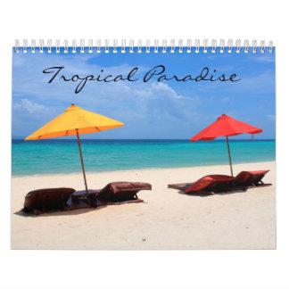 Tropisches Paradies Wandkalender