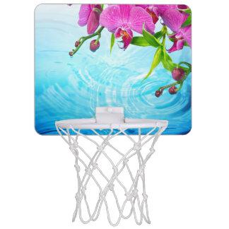 tropisches Paradies, Zen, Frieden, Orchidee, Mini Basketball Ring