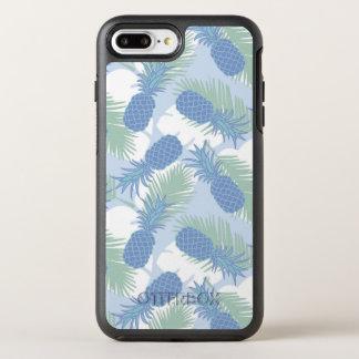 Tropisches Pastellananas-Muster OtterBox Symmetry iPhone 8 Plus/7 Plus Hülle