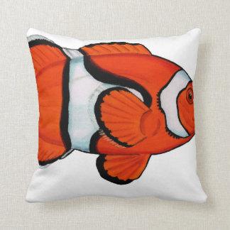 Tropisches Riff Clownfish (Nemo) Wurfskissen Kissen