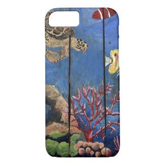 Tropisches Schildkröte-Wasser iPhone 8/7Barely iPhone 8/7 Hülle