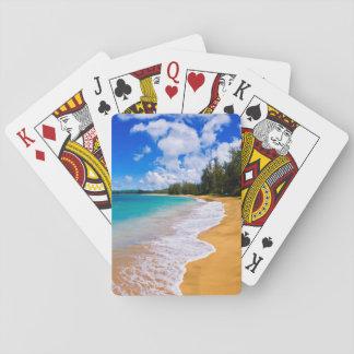 Tropisches Strandparadies, Hawaii Spielkarten