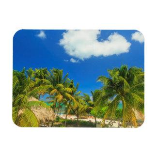 Tropisches Strandurlaubsort, Belize Magnet