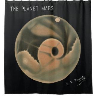 Trouvelot Zeichnungen - die Planeten-Mars Duschvorhang