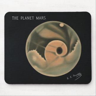 Trouvelot Zeichnungen - die Planeten-Mars Mousepad