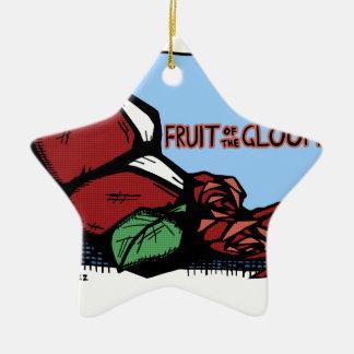 Trübsinn-Frucht Keramik Ornament