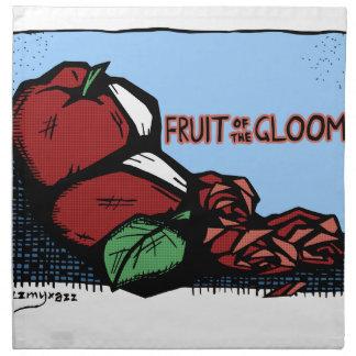 Trübsinn-Frucht Stoffserviette
