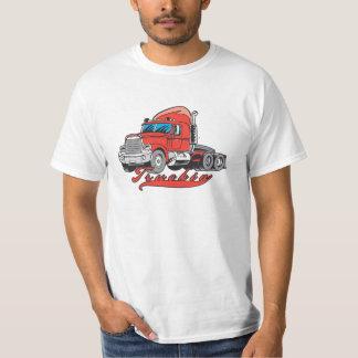 Truckin Wert-Shirt für Männer, die LKWs fahren T-Shirt
