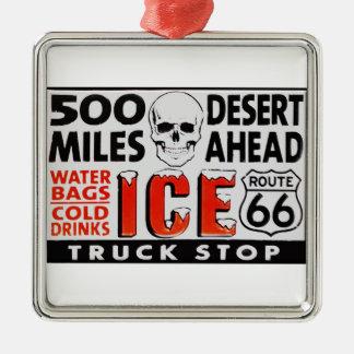truckstop66 silbernes ornament