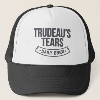 Trudeaus tägliches Gebräu MCGA liberaler Risse Truckerkappe