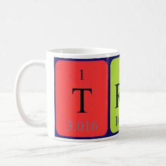 Trudy Namen-Tasse periodischer Tabelle Tasse