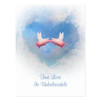 TrueLove ist unglaubliche Postkarten